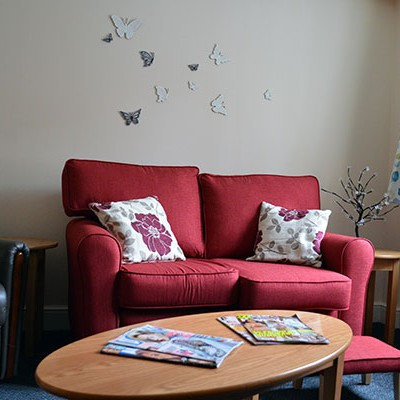 Baldock Rehabilitation Hospital Living Area