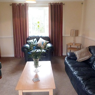 Etisley Manor Coach House Residential Care Living Area