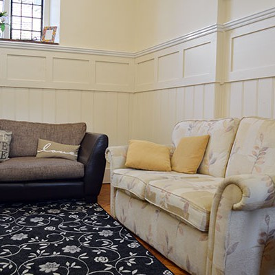 Howe Dell Manor Coach House Residential Care Living Area