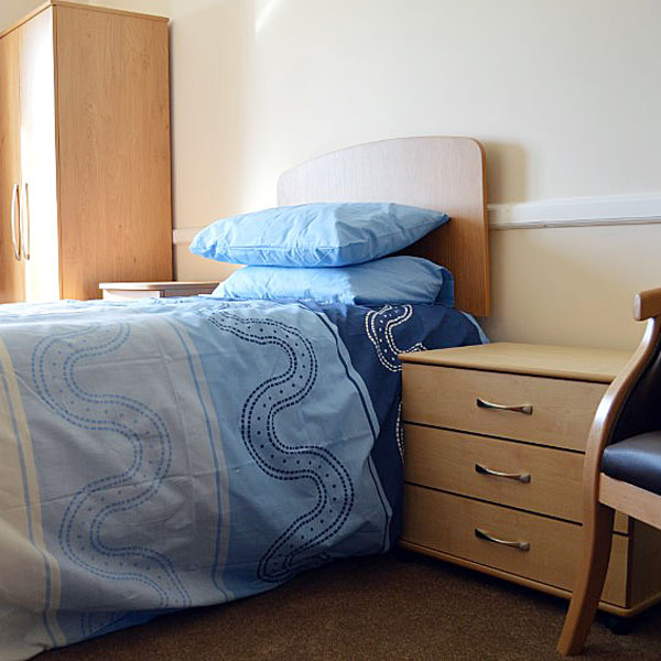 Etisley Nursing Care Home Bedroom