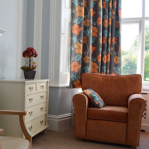 Etisley Nursing Care Home Living Area