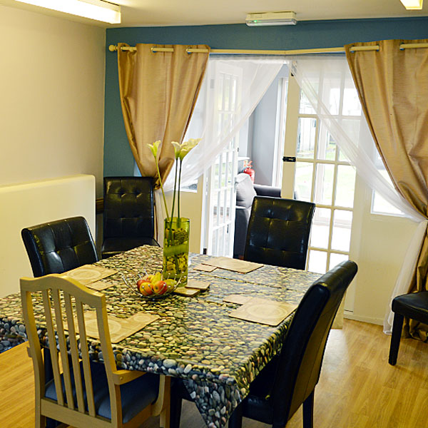 Lavender Lodge Residential Care Home Dining Area