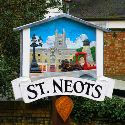 St Neots Sign