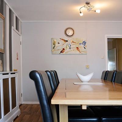 Winnett Residential Care Home Dining Area