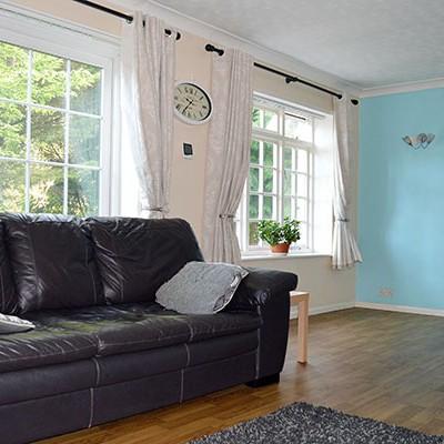 Winnett Residential Care Home Living Area